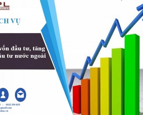 tăng vốn đầu tư công ty nước ngoài