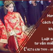 đăng ký kết hôn với người Trung Quốc, Đài Loan