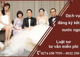 dịch vụ đăng ký kết hôn với người đài loan